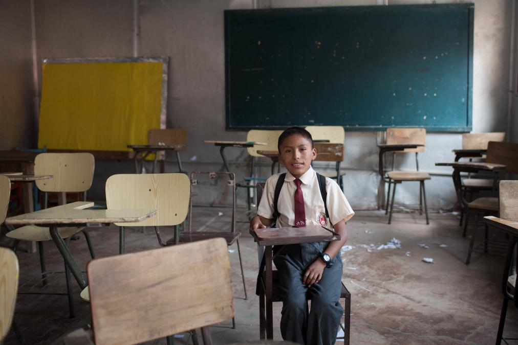Classroom, Huaycan, Peru.
