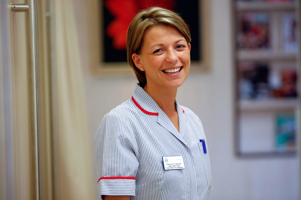 Staff Nurse, The Royal Marsden Hospital.