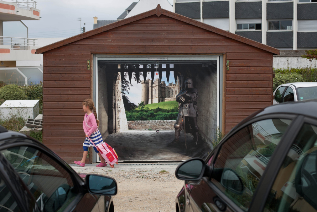Knight of the Garage, Quiberon, France.