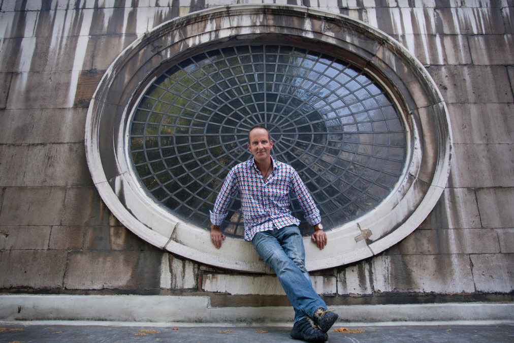 Kevin McCloud, T.V Presenter, St Giles Church, London.
