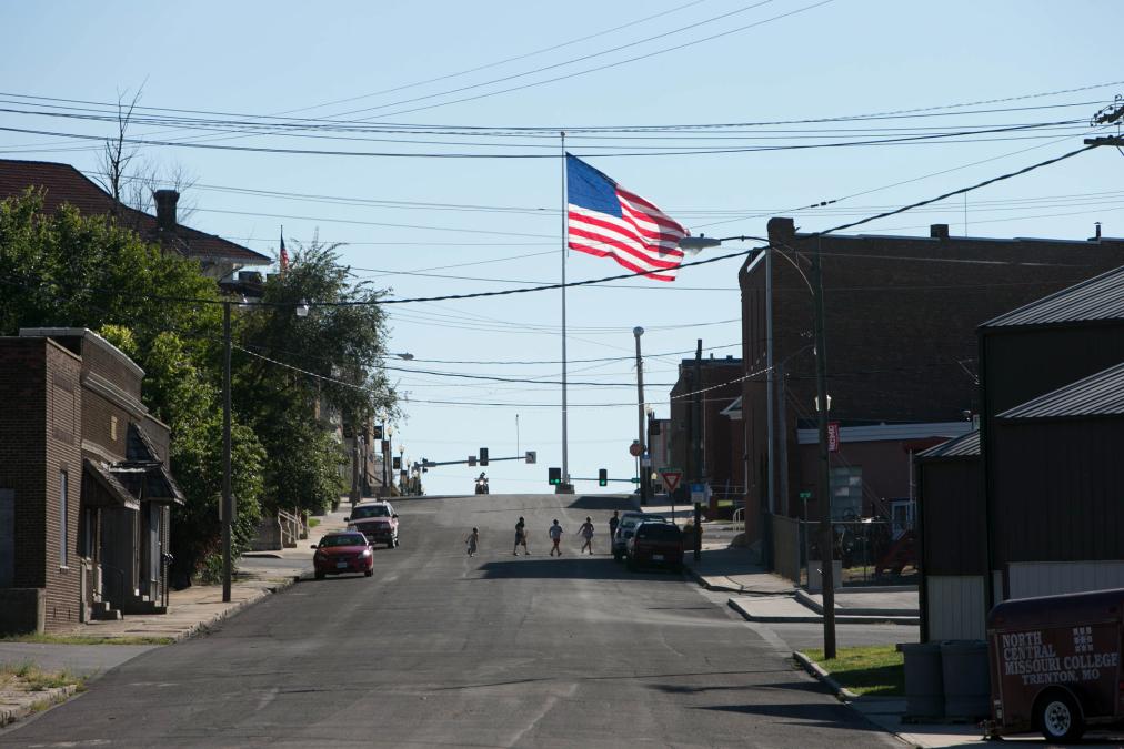 Main St, Trenton, Missouri.
