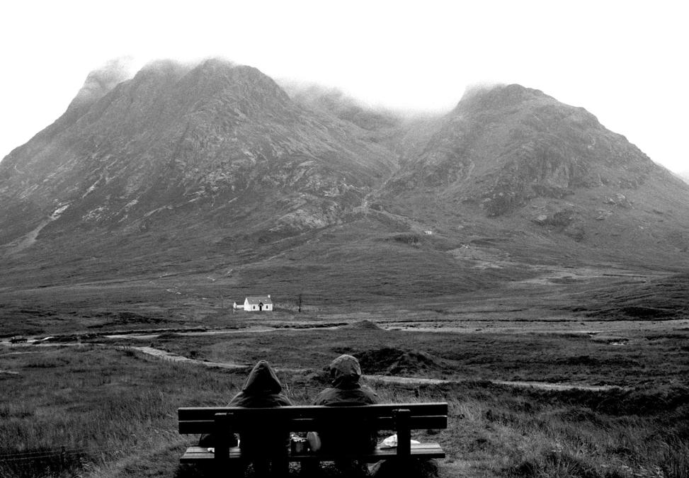 Teatime, Glencoe, Scotland.