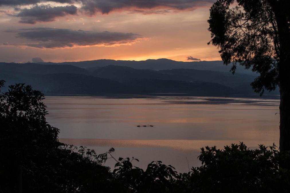Fishing Boats, Lake Kivu, DR Congo.