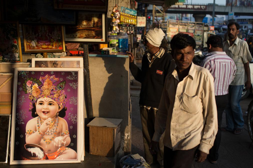 Street Scene, Nagpur, India